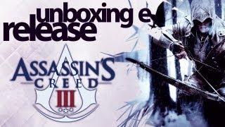ASSASSIN'S CREED 3  - Unboxing e Release da História / NovaStar Games