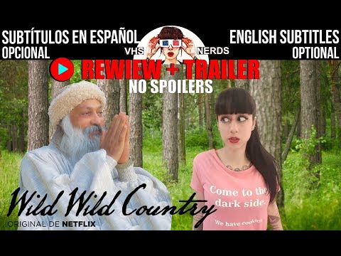 """WILD WILD COUNTRY"" (2018)  documental - documentary - Netflix original VHS NERDS"