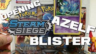 Opening a Pokemon TCG Azelf Steam Siege Blister Pack! by Flammable Lizard