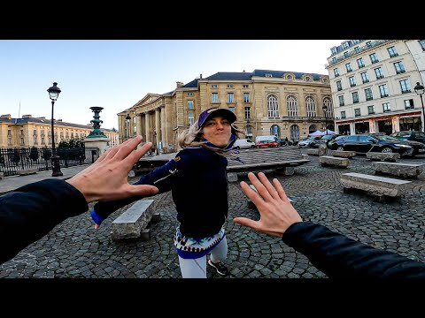 ESCAPING ANGRY GIRLFRIEND 😡 (Epic Parkour Chase in Paris)