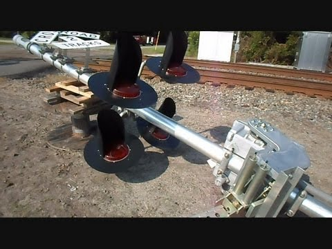 railroad crossing - This is a video I made of a railroad crossing in Hilliard Florida of a new signal system laying on the ground waiting to be installed. The old crossing looks...