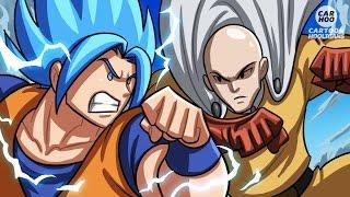Goku Vs Saitama - What If Battle [ OPM/ DBZ / DBS Parody ]