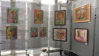 Перша виставка Анастасії Толмачової