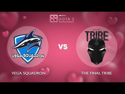 Vega Squadron vs The Final Tribe - RU @Map1 | Dota 2 Valentine Madness | WePlay!
