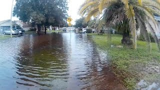 New Port Richey (FL) United States  city photos gallery : Flooding in New Port Richey, FL - Pasco County - Park Lake Estates
