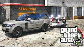 GTA 5 MOD#219 LET'S GO TO WORK!! (GTA 5 REAL LIFE MOD) 4K