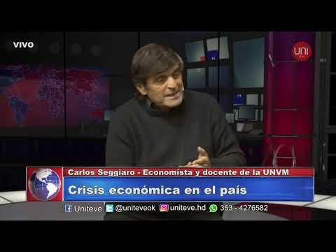 Entrevista a Carlos Seggiaro (Economista y Docente de la UNVM)