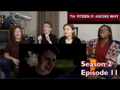 13 Reasons Why Season 2 Episode 11 - Bryce and Chloe - REACTION!!