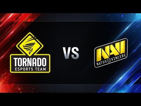 TORNADO Energy против Natus Vincere - Битва Чемпионов в Москве WGL 2016/17