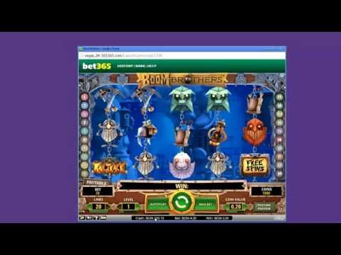 Bet365 Vegas Online Casino - Boom Brothers slot game