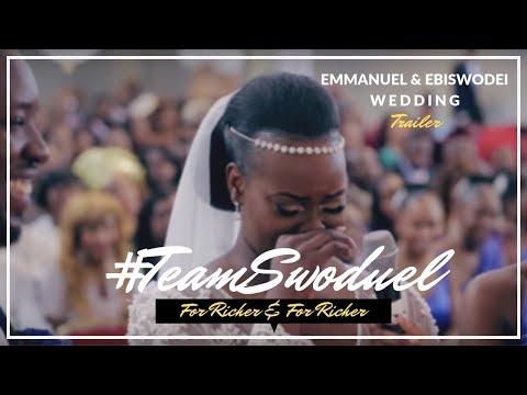 #TEAMSWODUEL - Emmanuel + Ebiswodei: Wedding Trailer (видео)