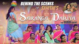 Behind The Scenes of Sahithi's Saranga Dariya for Ugadi Event    Sahithi   
