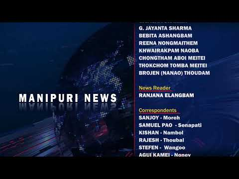 9 PM MANIPURI NEWS  25th APRIL 2019 / LIVE