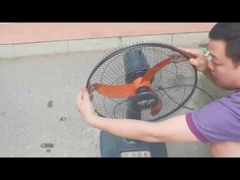 Hướng dẫn đơn giản để vệ sinh quạt điện