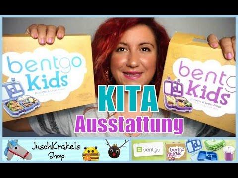 unsere Kindergarten Ausstattung | Bentgo Lunchbox | Kindergartentasche | Familybook