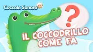 """Un simpatico video animato sulla base della famosissima canzoncina """"Il coccodrillo come fa?"""", da ascoltare e ballare con i propri..."""