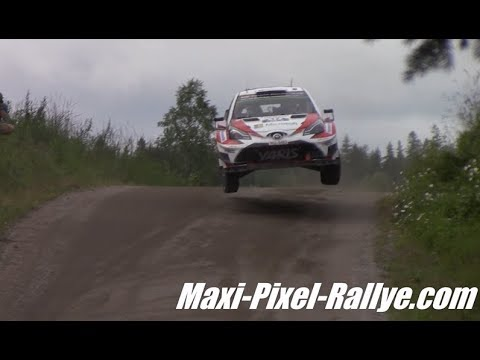 WRC Rally Finland 2017 - Flats-Out & Maximum Attack !! [HD]