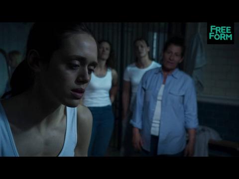 Guilt 1x07 Clip: Grace Stabs Herself  | Freeform