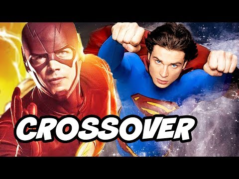 The Flash Season 4 Superman Smallville Crossover Episode Theory