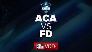 AcA vs FD, game 3