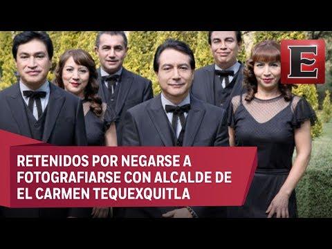 Músicos de Los Ángeles Azules denuncian privación de su libertad en Tlaxcala