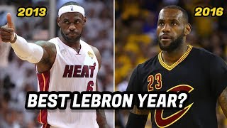 Video What Year Was LeBron James the Best Version of LeBron? MP3, 3GP, MP4, WEBM, AVI, FLV Desember 2018