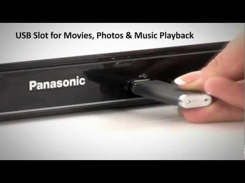 The Panasonic DMP-BD75 Blu-Ray Player