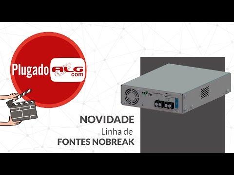 TESTE DE FUNCIONAMENTO - VARIAÇÃO DA TENSÃO DE ENTRADA | Linha de Fontes Nobreak ALGcom!