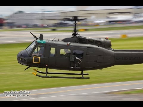 The Olympic Flight Museum's UH-1H...