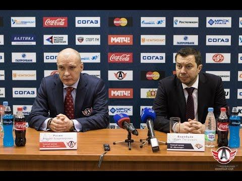 """Пресс-конференция: """"Автомобилист"""" 3:1 """"Металлург"""" (28.02.2016)"""