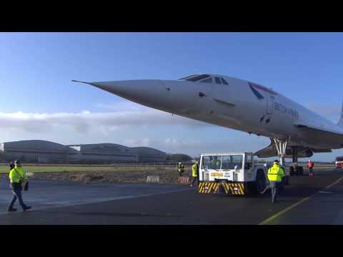 Aerospace Bristol welcomes Concorde 216 to her new home © Aerospace Bristol