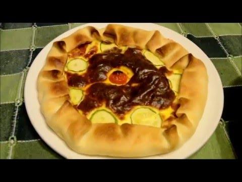 torta salata alla ricotta con pasta brisè - ricetta