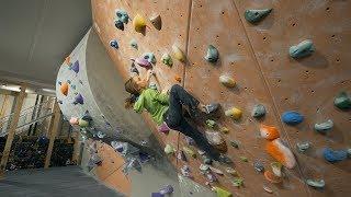 Sufferfest - Kajsa - Sofya - Eric | V12 -  V10 -  Dyno by Eric Karlsson Bouldering