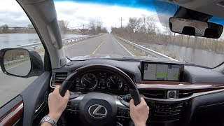 2019 Lexus LX 570 2 Row - POV Test Drive (Binaural Audio)