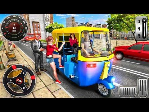 Modern Tuk Tuk Rickshaw Driving - City Mountain Auto Driver - Android GamePlay