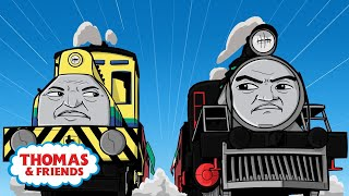 Video Carlos Races Raul! | Great Race Friends Near and Far | Thomas & Friends MP3, 3GP, MP4, WEBM, AVI, FLV Mei 2017