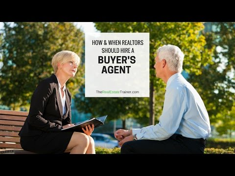 How and When REALTORS Hire a Buyers Agent