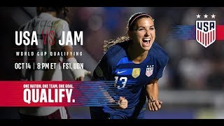 Video USA vs Jamaica - USWNT World Cup Qualifier MP3, 3GP, MP4, WEBM, AVI, FLV Agustus 2019