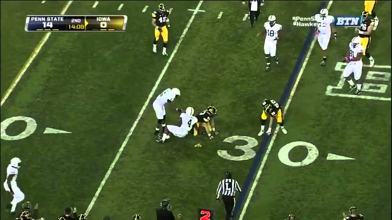 Gerald Hodges vs Iowa (2012)