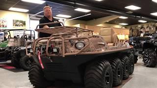 3. Argo Huntmaster 8X8 full Walk around
