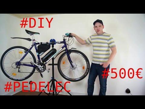 Pedelec Ebike Umbau für 500€ mit 250w Umbausatz (MXUS XF07) mit Test
