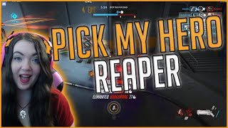 Back with another Pick My Hero video this week and this week it was Reaper! A lot of amazing expressions came out of this week's video, enjoy lol.Thanks for watching! I upload new videos weekly. Don't forget to subscribe, like, and comment.Find MeTwitch: http://twitch.tv/veroicone (stream weekly!)Twitter: http://twitter.com/veroiconeInstagram: http://instagram.com/veroiconeDiscord Server: https://discord.gg/4BwcgsUWebsite: http://veroicone.comAmazon Wishlist: http://amzn.com/w/3EP7VQPGX5VTV
