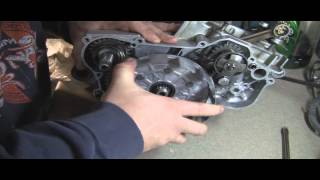5. YZ125 Part 11: 2 Stroke Installing Clutch and Repairing Clutch Basket
