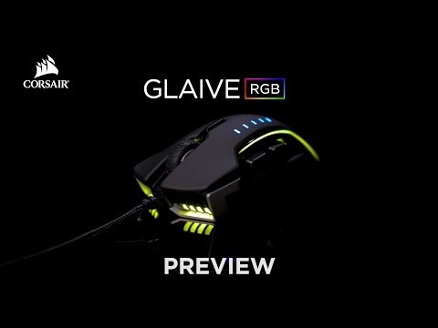CORSAIR GLAIVE - RGB Gaming Mouse