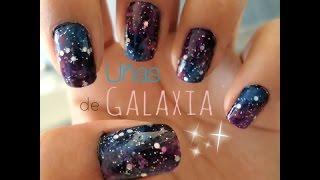 Uñas de Galaxia - YouTube