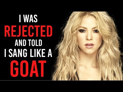 Motivational Success Story Of Shakira - From Poor and Rejected To Most Powerful Inspiring Celebrity