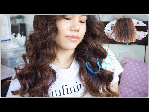 (Instagram curl in 5 min | Big bouncy curl | Nepali edition - Duration: 5 minutes, 34 seconds.)