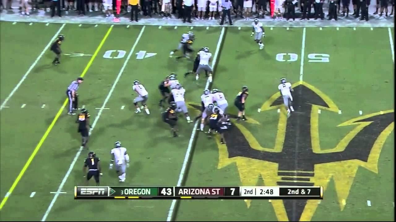 Brandon Magee vs Oregon (2012)