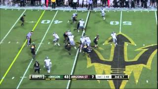 Brandon Magee vs Oregon (2012)