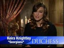Keira Knightley interview for The Duchess in You Tube HD
